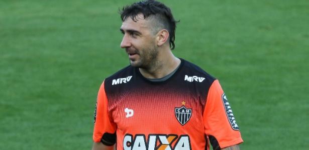 O atacante argentino Lucas Pratto, cobiçado por clube do futebol espanhol