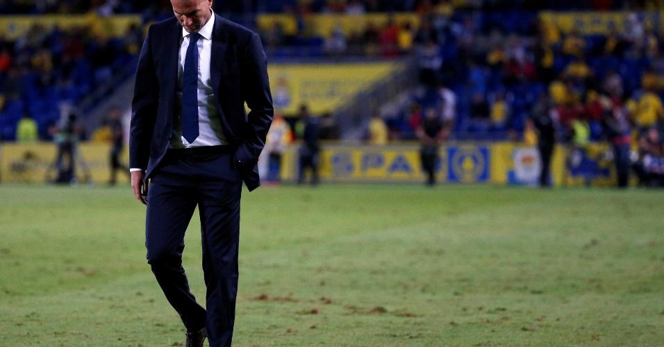 Zidane lamenta gol de empate do Las Palmas