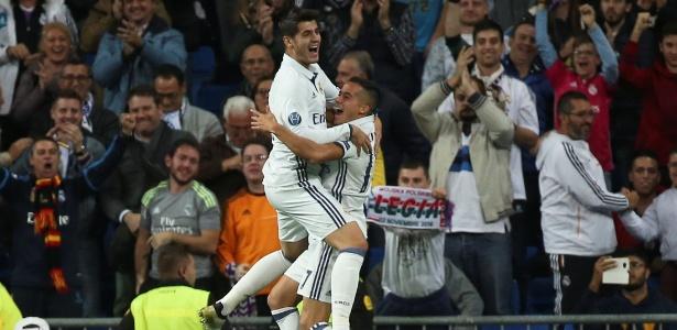 Morata e Lucas Vázquez foram bem na goleada do Real sobre o Legia