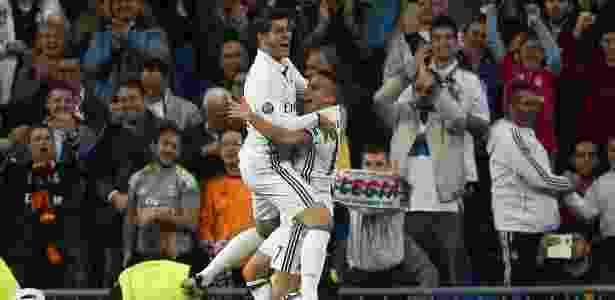 Morata e Lucas Vázquez foram bem na goleada do Real sobre o Legia - Sergio Pérez/Reuters