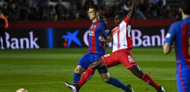 Caicedo marcou o gol da vitória do Espanyol sobre o Barcelona
