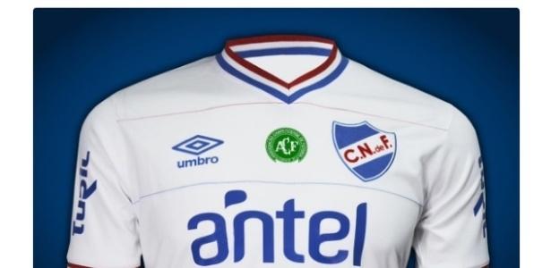 Nacional-URU usará símbolo da Chapecoense na camisa