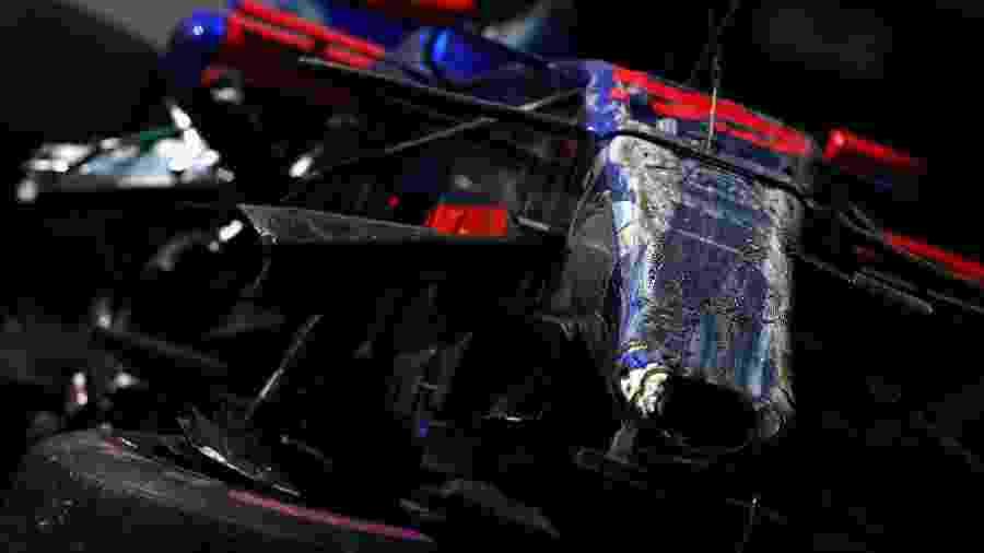 Carros de Carlos Sainz ficou destruído após acidente no GP do Canadá - Clive Mason/Getty Images
