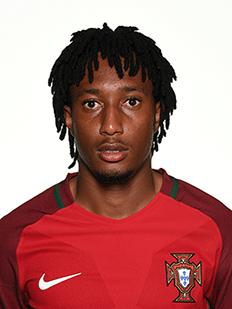 Gelson Martins, atacante de Portugal