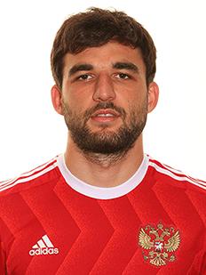 Georgy Dzhikya, zagueiro da Rússia