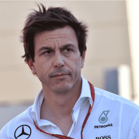 Toto Wolff, chefão da Mercedes - AFP PHOTO / ANDREJ ISAKOVIC
