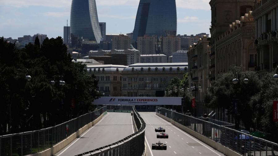 Vácuo pode ser segredo para boa classificação no GP do Azerbaijão em Baku - Mark Thompson/Getty Images