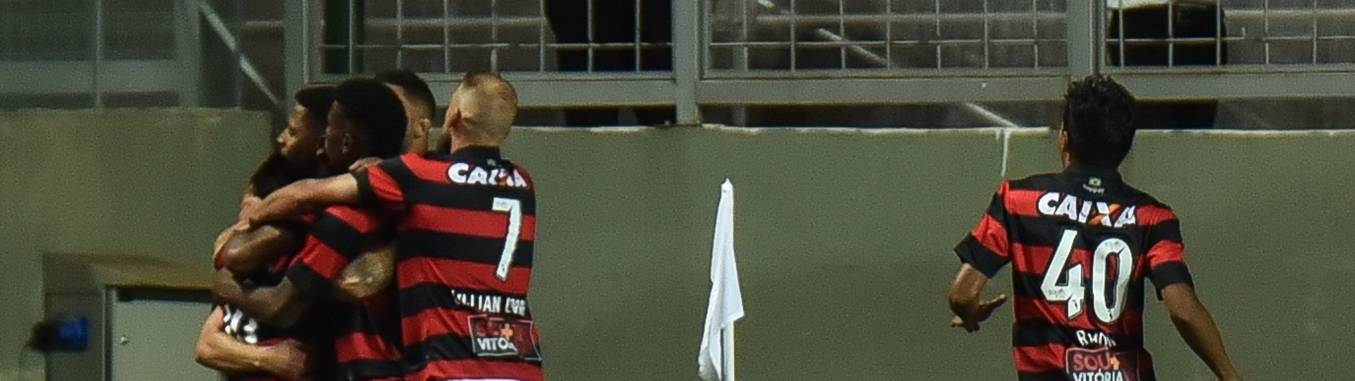 Neilton abriu o placar para o Vitória contra o Atlético-MG