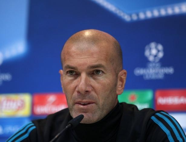 Zinedine Zidane, técnico do Real Madrid - SERGIO PEREZ/REUTERS