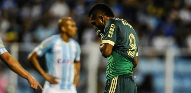 Borja pode desfalcar o Palmeiras na despedida da equipe na temporada - EDUARDO VALENTE/FRAMEPHOTO/ESTADÃO CONTEÚDO