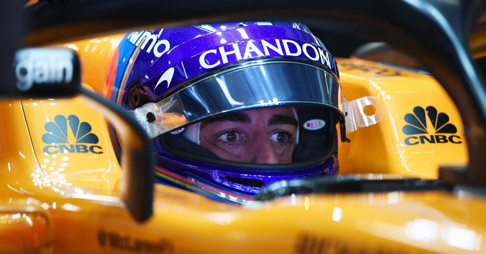 Fernando Alonso McLaren GP China treino