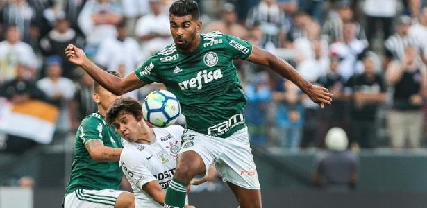 As duas equipes se entrentando durante o Campeonato Brasileiro de 2018, quando o Corinthians ganhou por 1 a 0 - Ale Cabral/AGIF