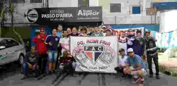 São José relatou encontro entre torcedores e dirigentes das duas equipes no RS - Divulgação - Divulgação