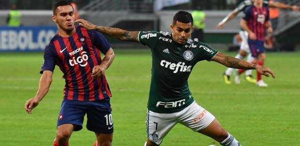 Empurrado pela torcida do início ao fim, Palmeiras mostrou maturidade - NELSON ALMEIDA / AFP
