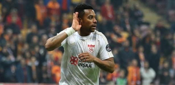 Robinho está próximo de mudar de clube na Turquia - Divulgação/Sivasspor