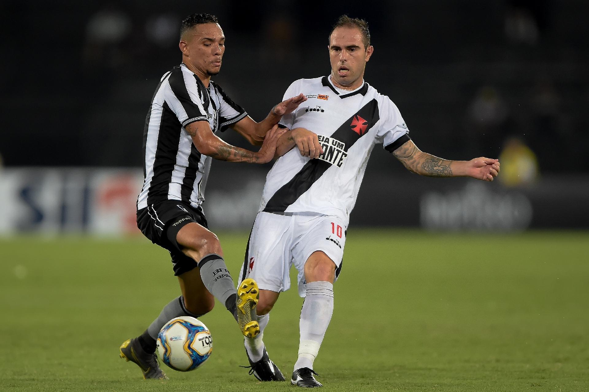 Carioca  Botafogo e Vasco alternam domínio e2865bc3a2db4