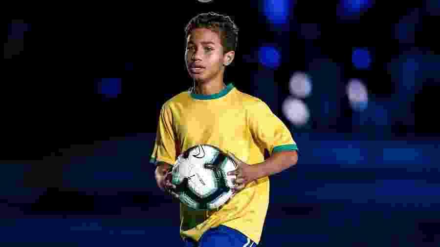 João Victor Macena durante abertura da Copa América - Wander Roberto/COL