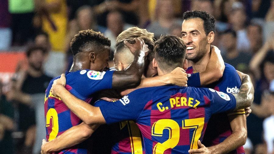 Apesar das poucas mudanças na nova numeração do Barcelona, há uma dúvida: quem vai usar a camisa 7? - Joan Gosa/Xinhua