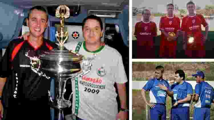Tiago Nunes durante passagem pelo Mato Grosso, dez anos atrás - Arquivo pessoal