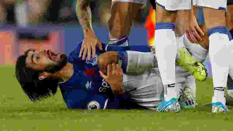 Andre Gomes sofreu fratura após carrinho de Heung-Min Son - Andrew Yates/Reuters - Andrew Yates/Reuters