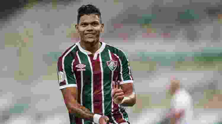 Evanílson marcou um golaço pelo Fluminense contra o Atlético-GO pelo Campeonato Brasileiro - Lucas Merçon/Fluminense FC - Lucas Merçon/Fluminense FC