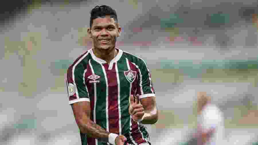 Atacante Evanilson foi vendido para o Porto, de Portugal, e não joga mais pelo Fluminense - Lucas Merçon/Fluminense FC