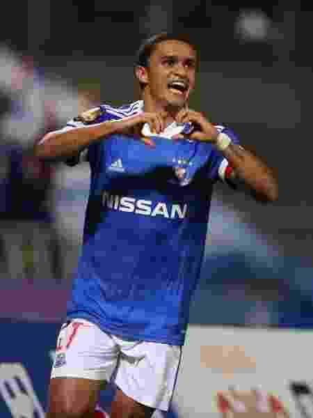 Erik, atacante do Palmeiras emprestado ao Yokohama Marinos - Divulgação
