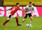 Alemanha sai atrás, mas consegue empate contra a Suíça na Liga das Nações - Getty Images