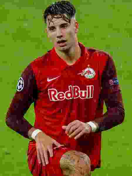 Szoboszlai, do RB Salzurg, em ação - Getty Images