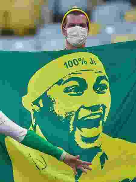 Final da Copa América, entre Brasil e Argentina, teve público no Maracanã - Thiago Ribeiro/AGIF - Thiago Ribeiro/AGIF