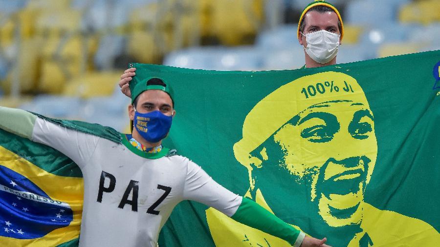 Final da Copa América, entre Brasil e Argentina, teve público no Maracanã - Thiago Ribeiro/AGIF