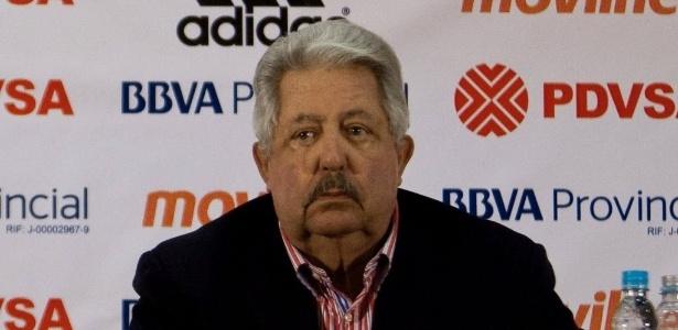 Ex-presidente da Federação Venezuelana de Futebol, Rafael Esquivel admitiu corrupção