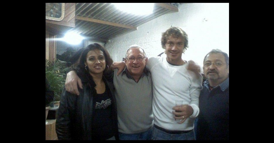 Lugano se tornou amigo do ex-sapateiro durante sua primeira passagem pelo Morumbi