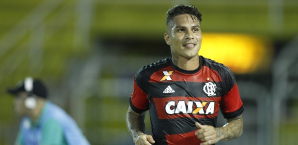 Paolo Guerrero está no Flamengo desde a última temporada