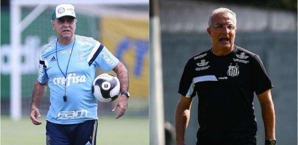Marcelo Oliveira e Dorival Júnior vivem crises distintas nos seus clubes