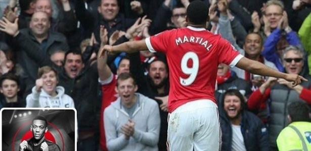 Anthony Martial negou que esteja negociando sua transferência para o Arsenal