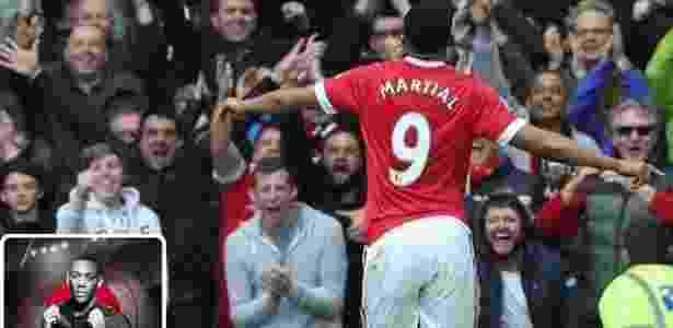 Anthony Martial negou que esteja negociando sua transferência para o Arsenal - Reprodução/Twitter