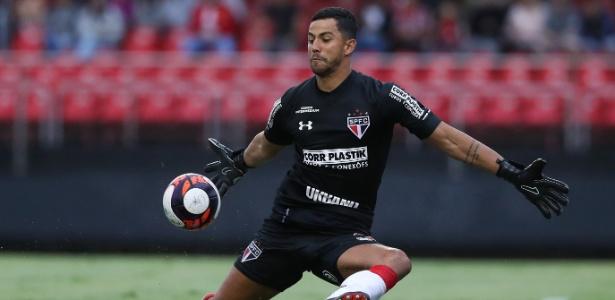 Renan Ribeiro foi um dos destaques do São Paulo no empate contra o Ituano