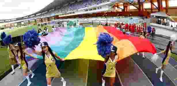 bandeira LGBT - Thiago Gomes/Agência Pará - Thiago Gomes/Agência Pará