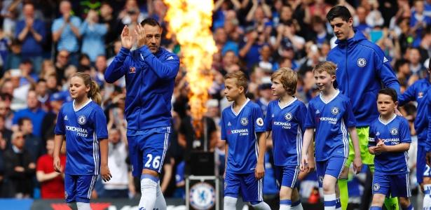 Terry se despediu do Chelsea no último mês de maio