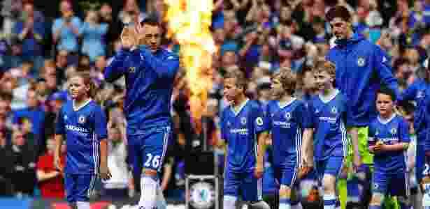 Terry se despediu do Chelsea no último mês de maio - Eddie Keogh/Reuters
