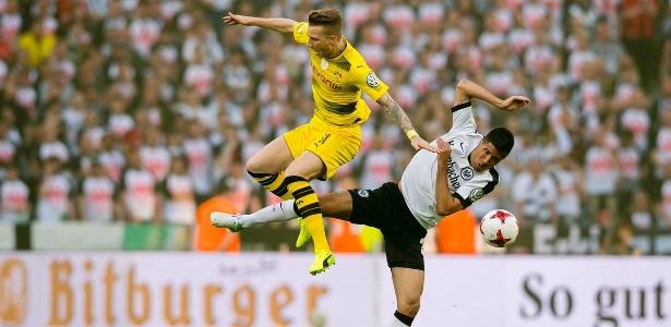 Marc Reus lesionou o joelho na fina da Copa da Alemanha