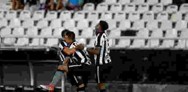 Botafogo no Nilton Santos - Clever Felix/Agência O Dia/Estadão Conteúdo - Clever Felix/Agência O Dia/Estadão Conteúdo