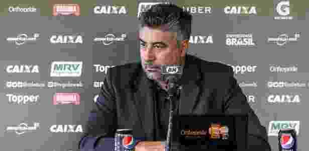 Alexandre Gallo deixou o comando do futebol do Atlético-MG no final de outubro - Bruno Cantini/Divulgação/Atlético-MG