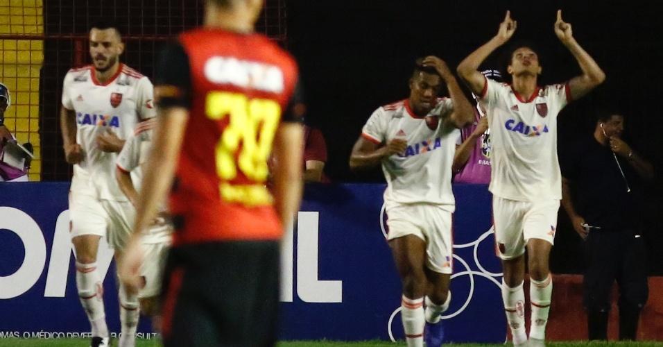William Arão Flamengo Sport gol Campeonato Brasileiro