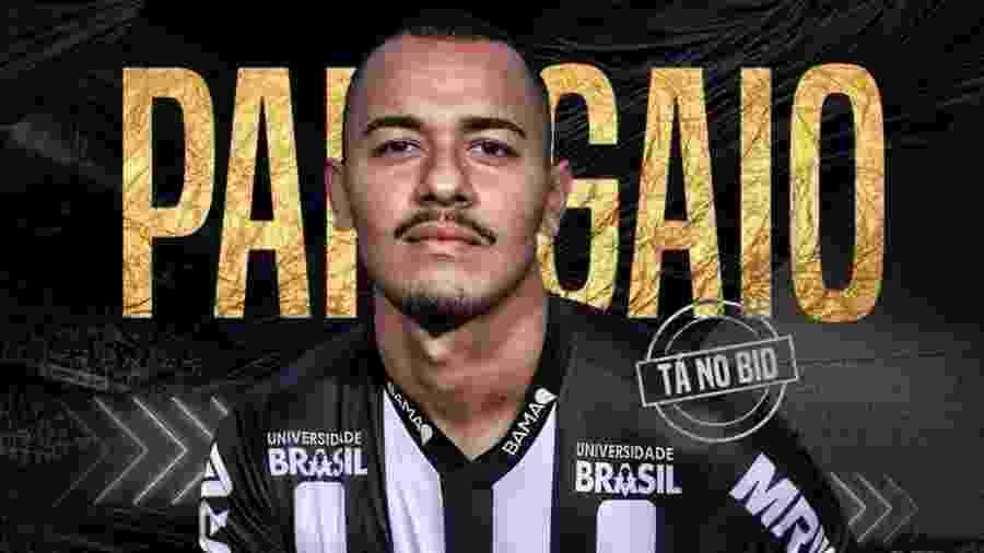 Rafael Papagaio é anunciado como reforço do Atlético-MG - Divulgação/Atlético-MG