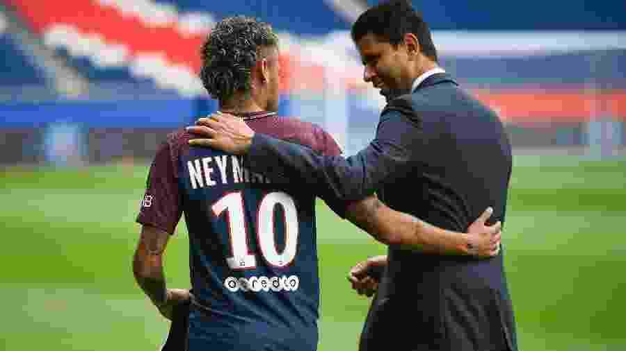 Em 58 partidas com a camisa do Paris Saint-Germain, Neymar marcou 51 gols - Lionel Bonaventure/AFP