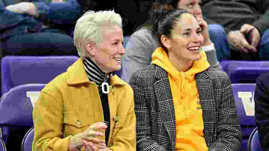Megan Rapinoe e Sue Bird - Alika Jenner/Getty Images