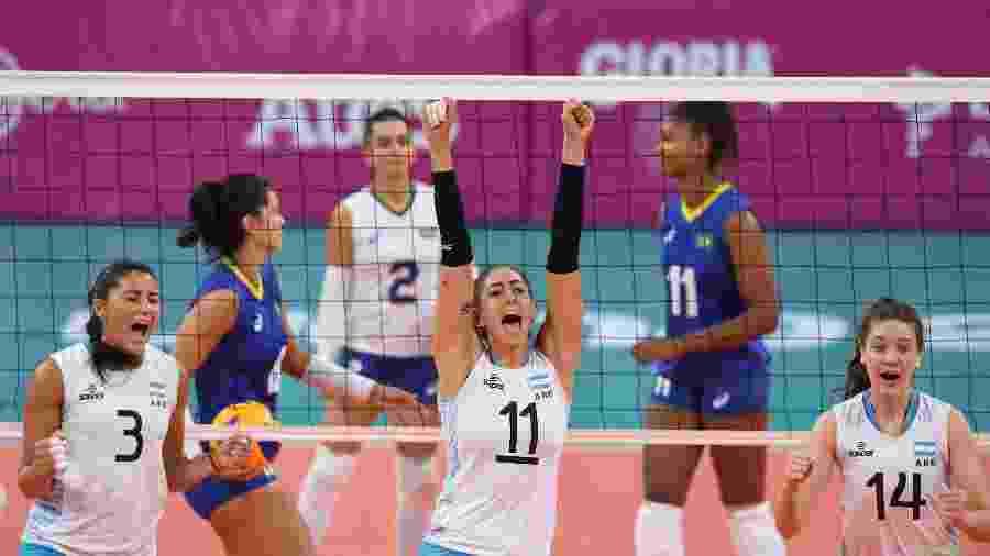 Brasil perde disputa de bronze contra a Argentina no Pan - PEDRO PARDO/AFP