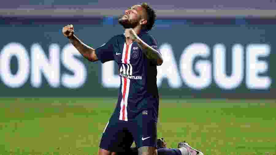Apesar de chegar com o PSG à final da Liga dos Campeões, Neymar perdeu pontos em FIFA 21 - Manu Fernandez/Pool via Getty Images
